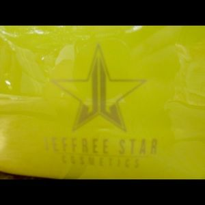 NEW! Jeffree Star Chartreuse Cosmetic's Bag